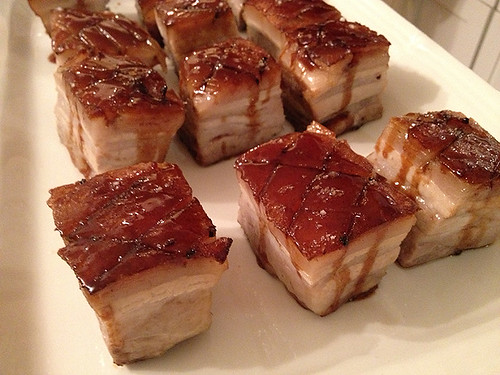 Pork Belly w Glaze!