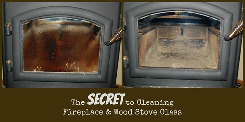 how to clean wood stove glass - How To Clean The Glass On Your Wood Stove Or Fireplace Pure Sugar