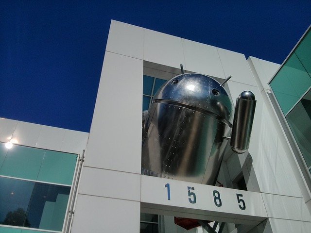 Metal Android at Googleplex