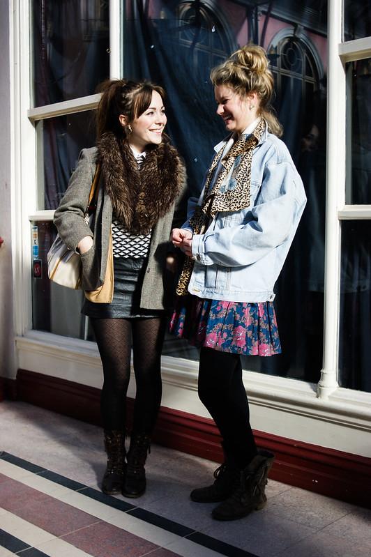 Street Style - Amy & Elle, Boscombe Vintage Market