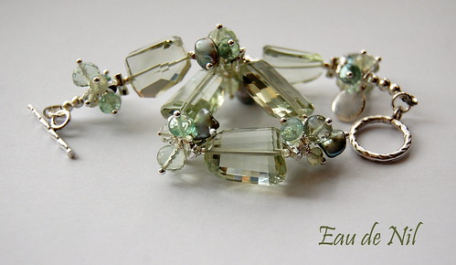 Eau De Nil Bracelet by gemwaithnia