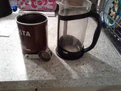 Coffee in a French Press 3