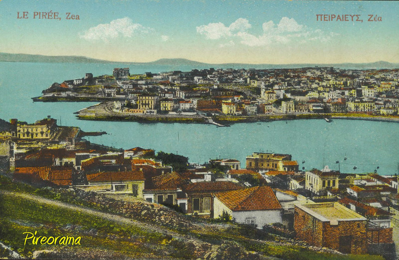 PORT OF ZEAS 1910