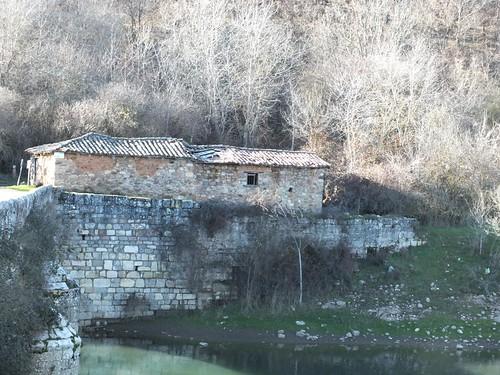 Estos edificios del antiguo hospital de peregrinos.