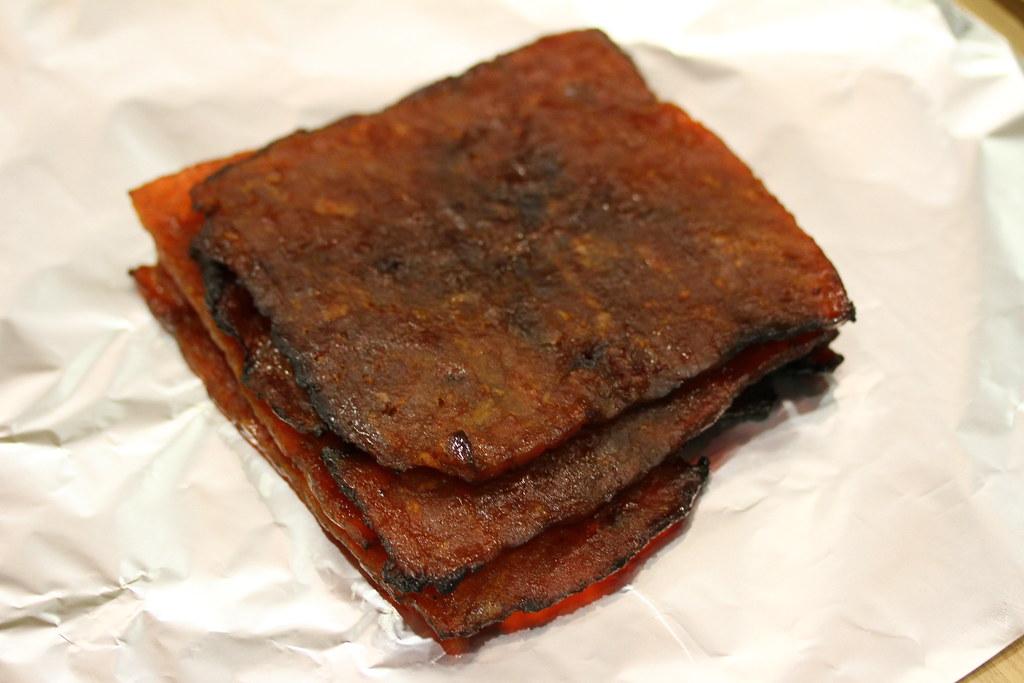 The Ultimate Bak Kwa Taste Test: Chai Ho (sliced chilli pork)