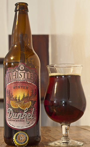 Review: Whistler Winter Dunkel by Cody La Bière