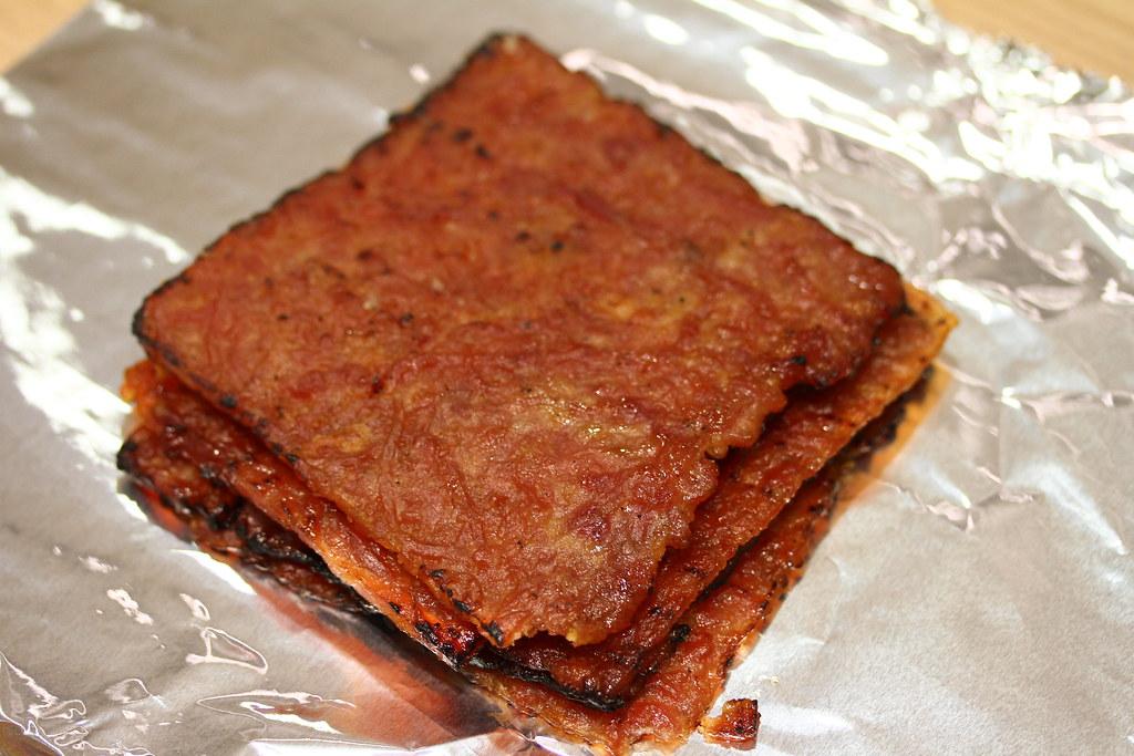 The Ultimate Bak Kwa Taste Test: Fragrance (sliced tender BBQ pork)