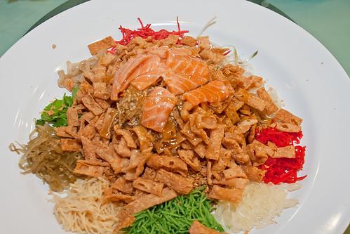salmon yee sang / lo sang IMG_8612