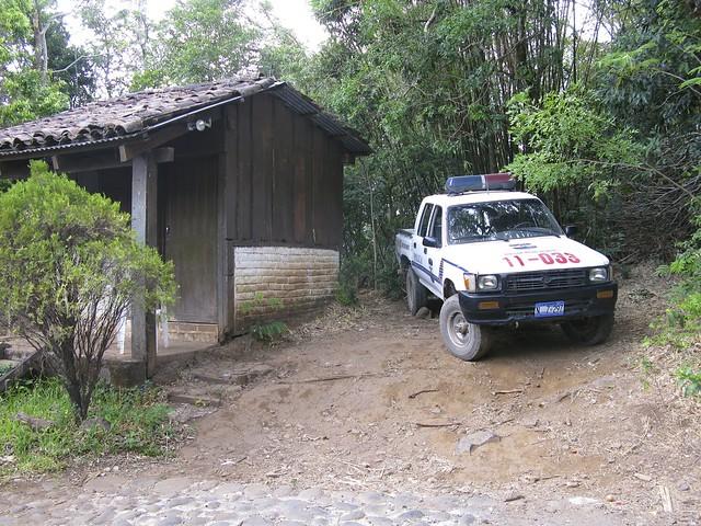 Fr Gränsentill Santa Ana, Salvador 042