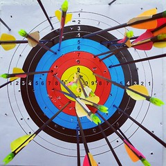 archery, symmetry, indoor games and sports, individual sports, sports, line, target archery, circle,