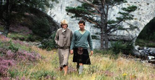 1981 Charles and Diana's honeymoon in Balmoral, Scotland in 1981.00