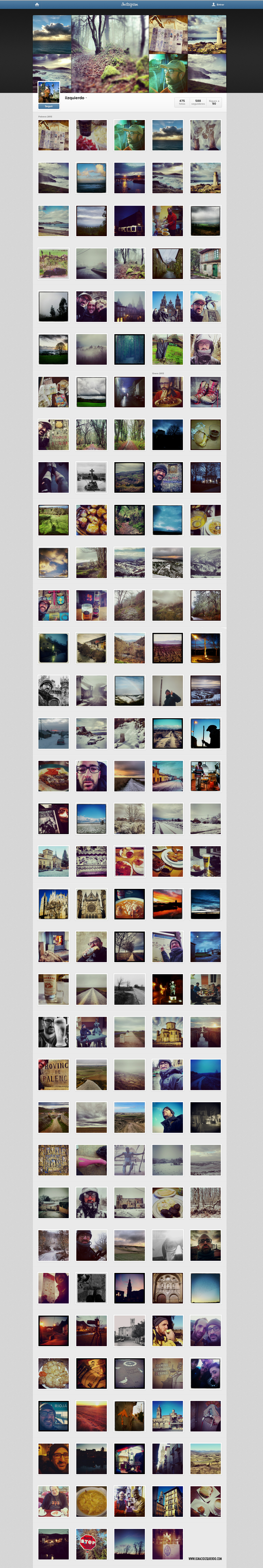 instagram camino de Santiago Total