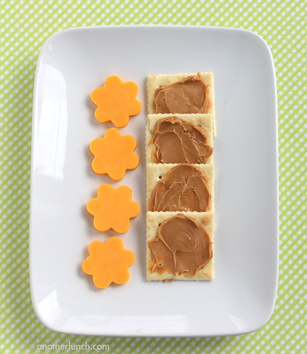 Chemo Duck peanut butter crackers with cheddar cheese snack