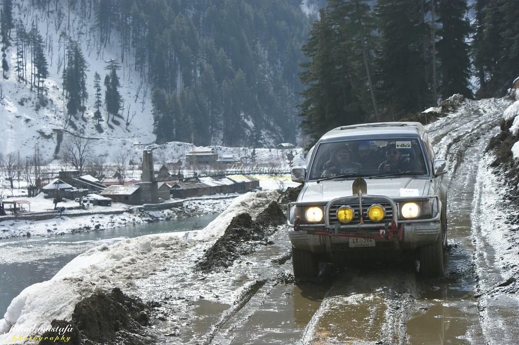 Muzaffarabad Jeep Club Neelum Snow Cross - 8470800613 7ce670c3f8 b