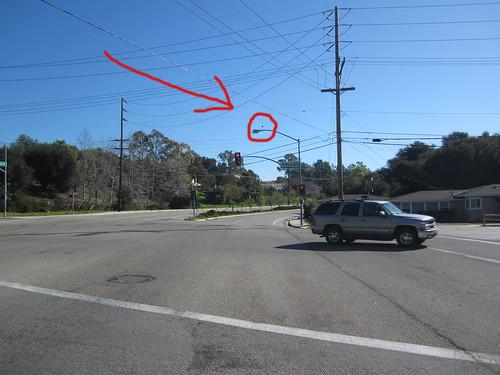 Traffic sensor camera