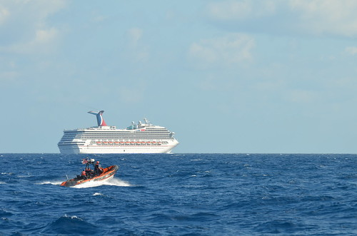 Coast Guard escorts disabled cruise ship [Image 3 of 4]