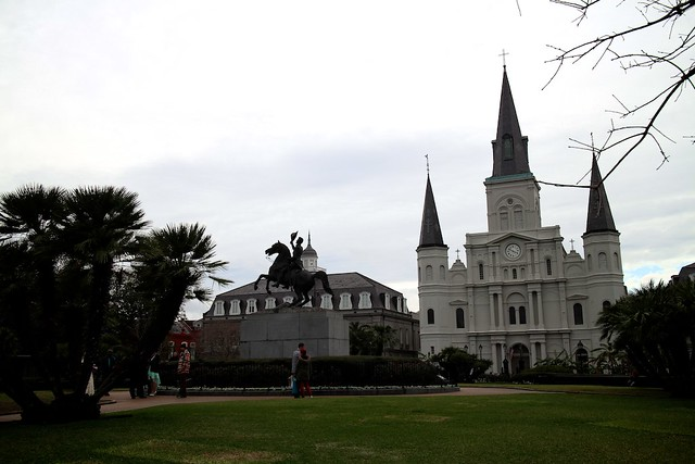 cathedral, new orleans