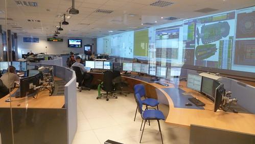 Sala de Control del experimento ATLAS