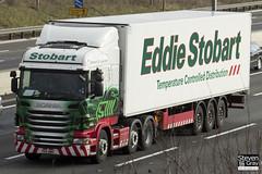 Scania G400 6x2 Tractor - PK11 BWH - Layla Karen - Eddie Stobart - M1 J10 Luton - Steven Gray - IMG_1197