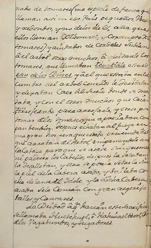 017-Continaucion texto novena fiesta-Códice Veitia- Biblioteca Virtual Miguel de Cervantes