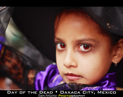 Celebration of Life - Oaxaca City, Mexico by Sam Antonio Photography