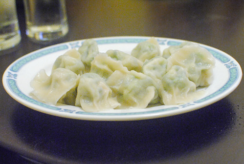 shrimp leek dumplings