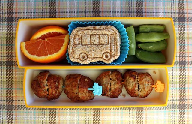 Preschool Bus Bento #405