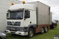Foden Alpha 450 6x4 Tractor Showman - White - DX55 HGC - Duxford - Steven Gray - IMG_6694