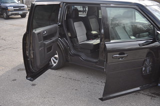 2012 Ford Flex Rear Suicide Doors
