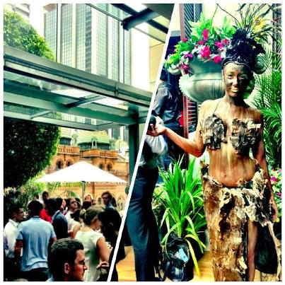 Secret Garden Zeta Bar Bodypaint by Eva Rinaldi Celebrity and Live Music Photographer