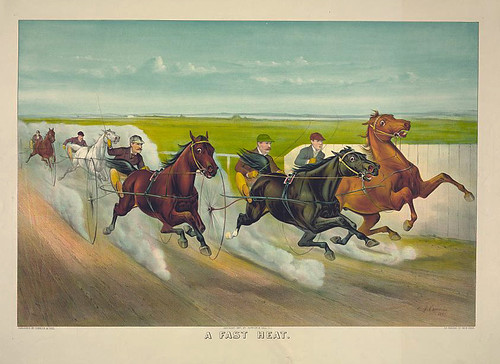 007-Imagen carreras caballos trotones-Library of Congress