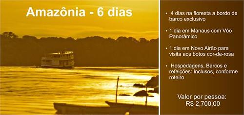 Expedição Amazônia com desconto especial para membro ClickSp !!! by kassá