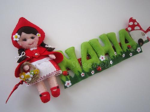 ♥♥♥ Nahia... by sweetfelt \ ideias em feltro