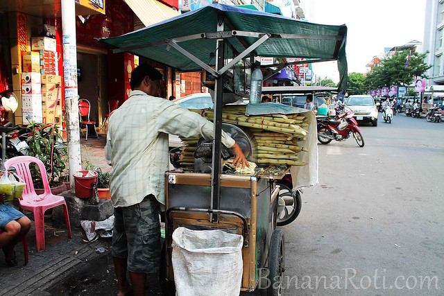 Fresh Sugarcane Juice in Cambodia