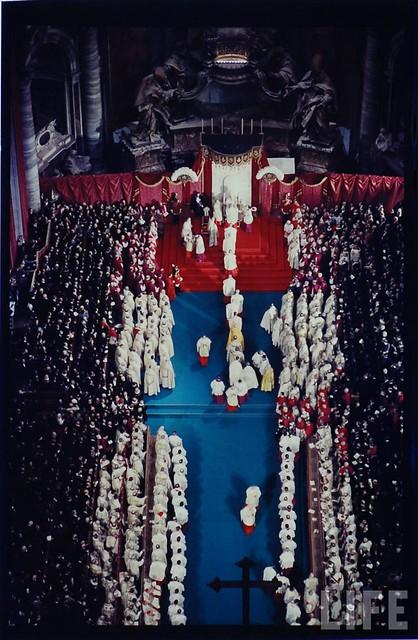 Coronation Of New Pope - 1958