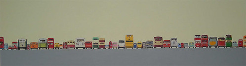 Jeremy Dickinson, Bus Rears, 2008