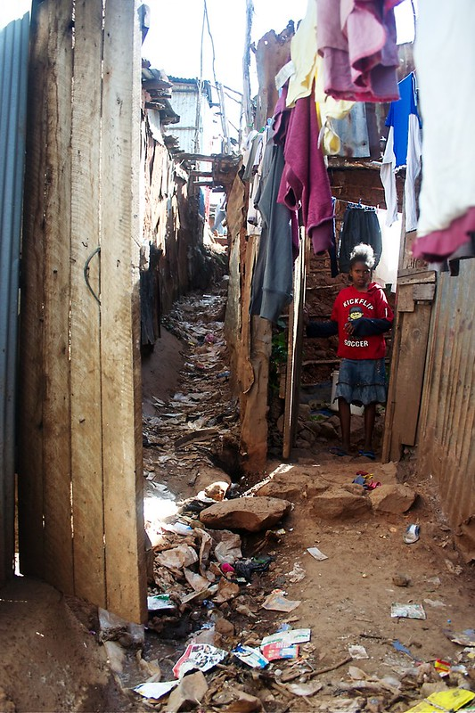 Alley beside Brethren Assembly Fellowship Kibera