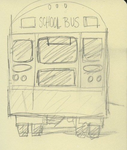 school bus by Bricoleur's Daughter