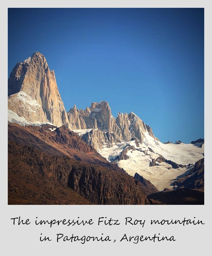 polaroid of the week argentina el chalten fitz roy mountain