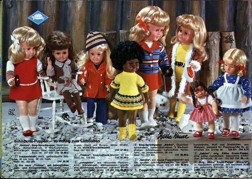 1972 VEDES 12 Schildkröt Käthe Kruse