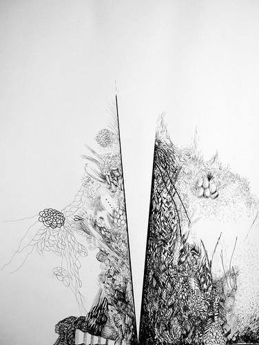 Quarto desenho a tinta da China-Singapura, 2013 by fernanda garrido