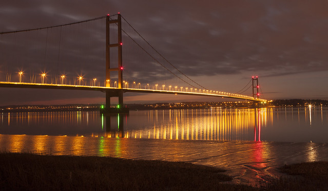 The Humber Bridge - Barton-upon-Humber