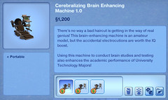 Cerebralizing Brain Enhancing Machine 1.0