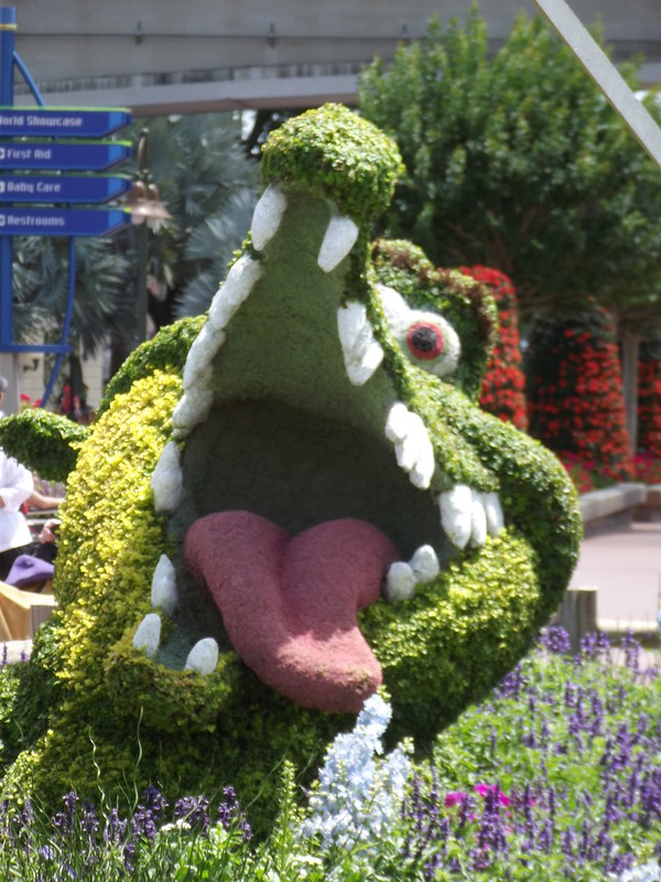EPCOT Crocodile