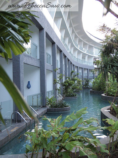 lagoon access room Le meridien bali jimbaran