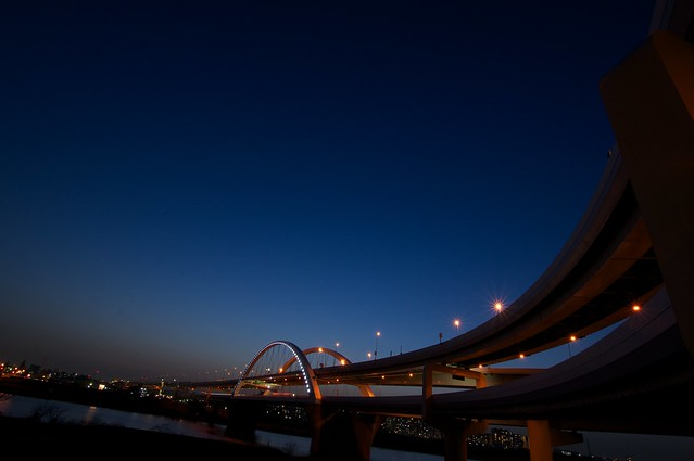 五色桜大橋 Goshiki-zakura Ohashi Bridge
