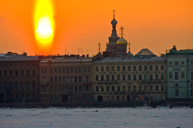 Sunrise, St. Petersburg