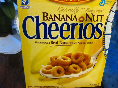 Banana Nut Cheerios // General Mills by VeganBananas