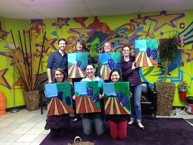 CP Ladies Paint Night #2