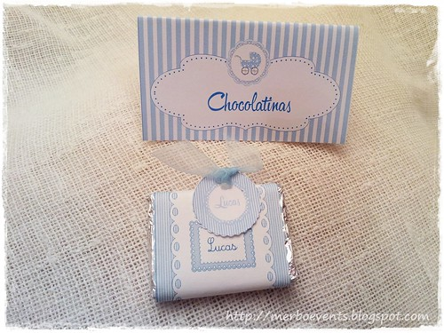 chocolatinas Baby Shower by Merbo Events